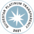 Guidestar Platinum Transparency Badge for 2021